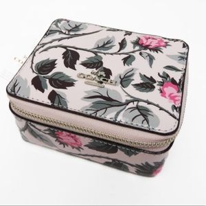 Authentic Coach Jewelry box in sleeping Rose 🌹